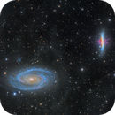 M81 and 82 galaxies surrounded by IFN,                                Alberto Pisabarro