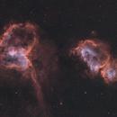 Heart and Soul Nebulae (Radian Raptor 61),                                Trevor Jones