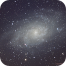 M 33-LRGB  First light with new filterwheel without Flattener not the best ....,                                Manfred Hraba