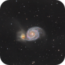 M51 - Whirlpool Galaxy,                                Bill Long