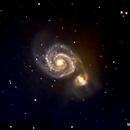 M51 Whirpool Galaxy 2,                                poblocki1982