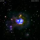 ngc7129  nebulosa nel cefeo                                                                         distanza 3.300  A.L.,                                Carlo Colombo