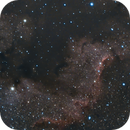 Cygnus Wall in  visible light,                                Ed Defesche