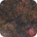 Around Vulpeculae-NGC 6823, Sharpless 87 and 88,                                Niko Geisriegler