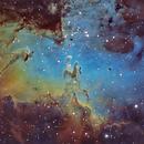 Heart of M16 Eagle Nebula ,                                Benoit Gagnon