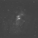 Bubble Nebula in Ha,                                Sandra Repash