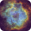 Rosetta Nebula (NGC2237) in HSTrgb,                                Jose Carballada