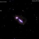ngc3227 galassia nel  leone     distanza 147 milioni  A.L.,                                Carlo Colombo