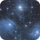 Merope, Maia & Alcyone - Into the center of the Pleiades,                                Oliver Czernetz
