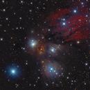 NGC2170 - Bright Nebula in Monoceros,                                Stellario
