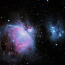 Messier 42 Orion Nebel,                                Karoass