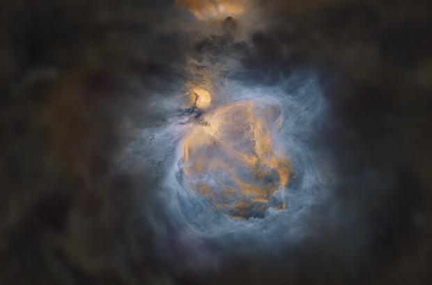 M42 - Orion Nebula Starless - SHO,                                Jeff Kisslinger