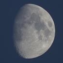 Der Mond bei Sonnenuntergang -Mosaik-,                                Horst Twele