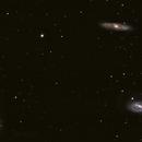 M65 M66 NGC3628,                                Hata Sung