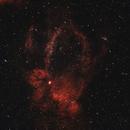 Sh2-157 Lobster Claw Nebula 20210610 12000s Ha-OIII 01.4.3,                                Allan Alaoui