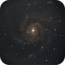 M101 Pinwheel Galaxy,                                JT
