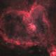 The Heart Nebula in HOO,                                Tom KoradoxTom