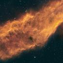 California Nebula HA+SII+SII,                                Wes Higgins