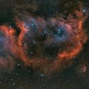 IC1848 (Westerhout 5) Soul Nebula in HOO,                                Andy Rattler Brown