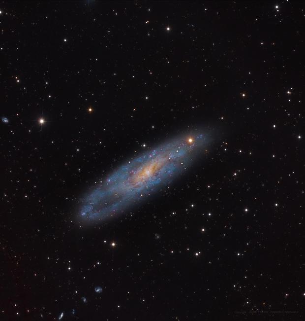 NGC 247 & the Burbidge Galaxy chain,                                JAIME FELIPE RAMI...