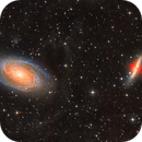 M81, M82 LHaRGB Mosaic,                                Byoungjun Jeong