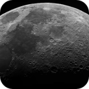 Seven Days Old Moon (monochrome),                                astropical