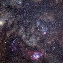 Lagoon, Trifid and Saturn,                                Matt Schulze