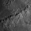 Moon - The  Montes Apenninus Mountain Range,                                Axel Kutter