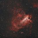 Messier 17 Omeganebel,                                Enrico Scheibel