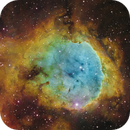 NGC3324 and IC2599 (Gabriela Mistral Nebula) [SHO]  (Crop),                                Dean Carr