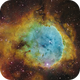 NGC3324 and IC2599 (Gabriela Mistral Nebula) [SHO]  (Crop),                                Dean Carr