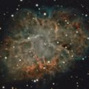 M1 480mins, OSC, Triad Quadband and Lex_pro Filters, 3 deg from moon,                                Mike