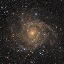 IC342 The hidden Galaxy,                                Albert van Duin