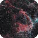Eastern Veil Nebula (NGC 6979) - HOO Narrowband,                                rhedden
