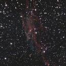 Eastern Veil Nebula, Bortle 9, 30min eVscope,                                psychwolf