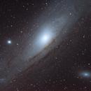 M31 Andromeda Galaxy,                                AstroBadger