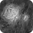 Messier 42/43 en H-Alpha,                                Georges