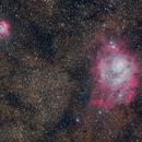 M8 Lagoon Nebula,                                Brett Haussmann