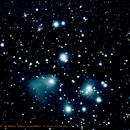 M45 - Les Pléiades,                                Voirol Christian