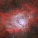 M8 HII-OIII-RGB,                                Giovanni Paglioli