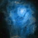 The Lagoon Nebula,                                Prabhu S Kutti