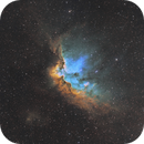 Wizard Nebula (NGC 7380),                                AstroPoverty