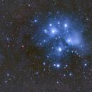 Diamonds and Dust - the Pleiades,                                Andrew Lockwood