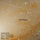 Nova AT2020yye in M31 - 2020/11/08,                                Marco Failli