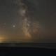 Milky Way over Rhossili, Wales,                                Mark Williams