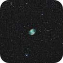 M27 on a Full Moon Night,                                mikebrous