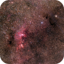 NGC 3576 Widefield,                                Colin