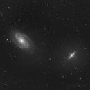 M81-82, a Ha picture,                                Niels V. Christensen