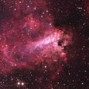 M17, Swan Nebula,                                Daniele Gasparri