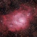 Lagoon Nebula HaRGB,                                Anderson Thrasher